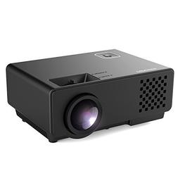 DBPOWER Mini Projector Portable LED Projector, Compatible wi