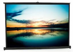 """VIVO 50"""" Portable Tabletop Projector Screen 4:3 Format - Mob"""