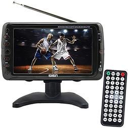 Portable 7 Inch LCD Digital HD Television TV - ATSC/NTSC Tun