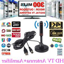 Portable TV Antenna Aerial DVB-T Best High Definition Carava