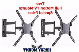 Price Deal on Two Full Motion TV Wall Mounts Fits 32 40 42 4