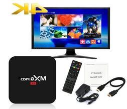 MXQ Pro 4K 3D 64Bit Android 7.1.2 Quad Core Smart TV Box 108