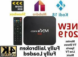 MXQ PRO S905X 64-bit Android 7.1.2 TV BOX HDMI 1080p 4K 3D W