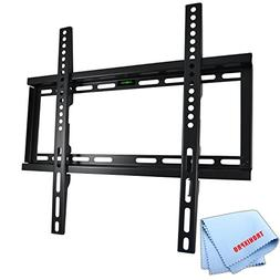 """Low Profile Flat Screen TV Wall Mount for 23""""-56"""" TVs + Tron"""