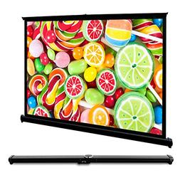 Remoze 50 Inch Projection Screen 16:9 HD Mini Portable Table