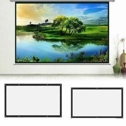 Projection Screens 3D HD Wall Mounted Projection Screen Canv