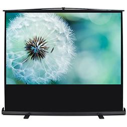"""ARKSEN Pull Up Projector Screen 92"""" Inch 16:9 HD Portable"""