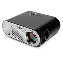 Ohderii Projector, 3200ANSI Luminous Efficiency Multimedia H