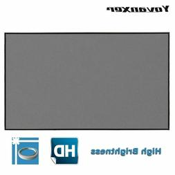 Projector Screen 60 72 100 120 133inch Projection Screen For
