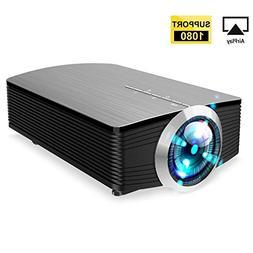 GAOAG Protable Mini Movie Projector Multimedia Home Theater