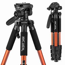 Mactrem PT55 Travel Camera Tripod Lightweight Aluminum for D