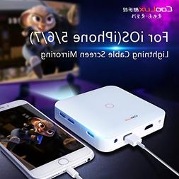 Coolux Q7 140lumens Mobile Pico Video Projector Portable Min