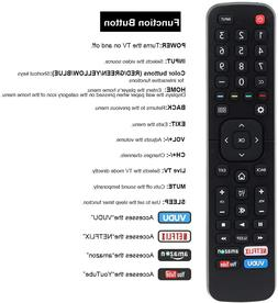 Replace Remote Control for Hisense 50-Inch 4K Class ULED And