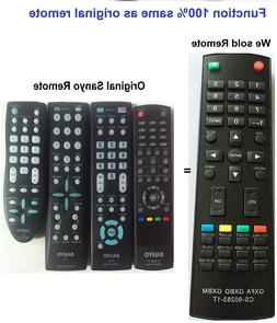 New Replaced TV Controller Remote Control sub Sanyo GXFA GXB