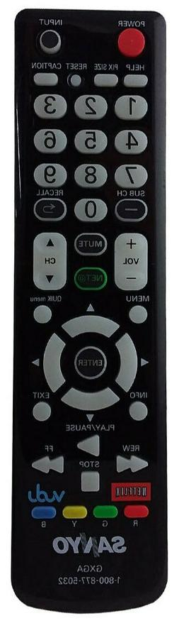 Replacement for SANYO GXBM TV Remote Control -BRAND NEW Orig