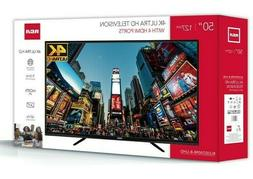RCA RLDED5098UHD 50inch 4K UHD LED TV - Black
