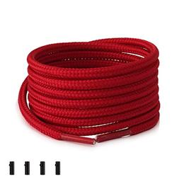 Shoemate Round Solid Color Shoe laces for Sneakers & Boots w