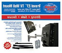 RV Trailer Camper Electronics Tv Wall Mount With Safety Stra