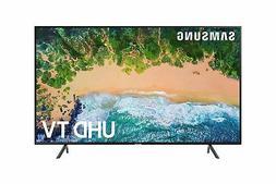 """Samsung 7 Series 50NU7100 Flat 50"""" 4K UHD Ultra HD Slim Desi"""
