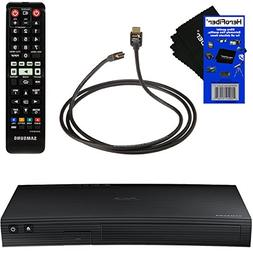 Samsung BD-J5700 Curved Disk Blu-ray Player with Wi-Fi + Rem