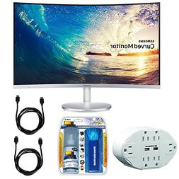 "Samsung CF591 Series 27"" LED Curved Monitor  with Xtreme 6 O"