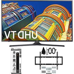 Samsung UN50KU6300 - 50-Inch 4K UHD HDR Smart LED TV Bundle