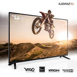 Sansui 42 Inch TV 1080p LED LCD HD Monitor Flat Screen TVs F