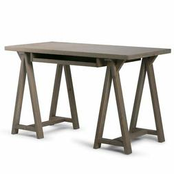 Simpli Home Sawhorse Small Desk