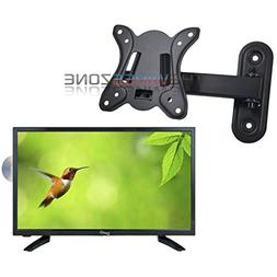 """Supersonic SC-1912 19"""" LED HDMI AC/DC Widescreen HDTV w/ DVD"""
