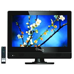 Supersonic SC-1311 LED HDTV 13.3 1080p Widescreen Black W/HD