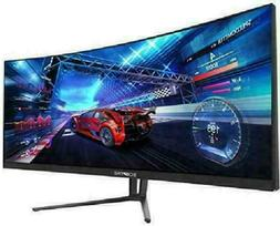 Sceptre C355W-3440Un 35 Inch Curved Ultrawide 21: 9 Led Gami