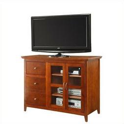 Convenience Concepts Sierra Highboy Black TV Stand for TVs u