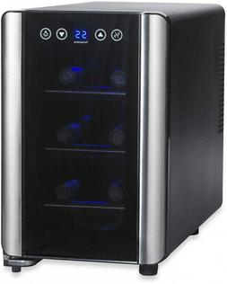 Wine Enthusiast Silent Touchscreen 6-Bottle Single-Zone Wine
