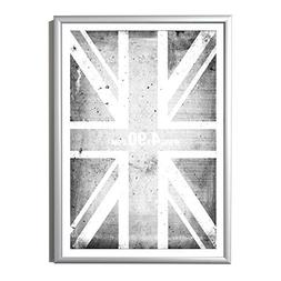 50 x 60 cm Silver Aluminium Picture / Poster Frame  by Four