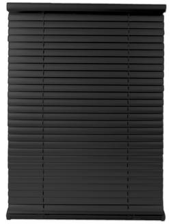 Single Touch Cordless 1 Inch Mini Blind in BLACK Choose Size
