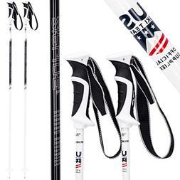 Ski Poles Carbon Composite Graphite - Zipline Lollipop U.S.