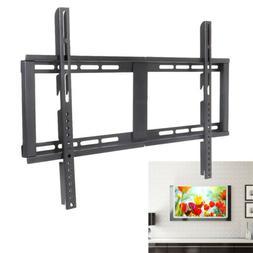 Slim Fixed TV Wall Mount Bracket Panel Stand Universal Holde
