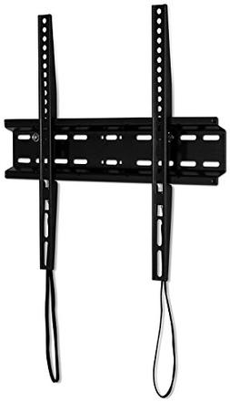 Mount-It! Slim TV Wall Mount Fixed TV Bracket for Flat Scree