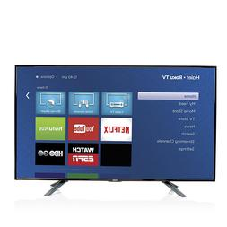 "Haier 49"" Smart LED HDTV with Built-In Roku and HDMI Cable"