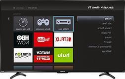 """Sharp 55"""" LED 1080p Smart HDTV Roku TV"""