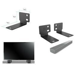 Sound Bar Bracket Mount Universal Soundbar Speaker Steel Sta