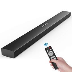 Meidong Soundbar,Sound Bars for TV Bluetooth Speakers Large