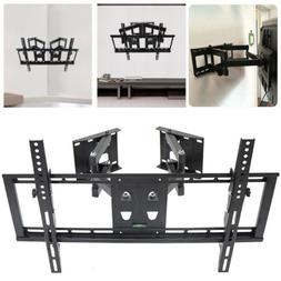 Strong Tilt Swivel TV Corner Wall Mount Bracket LCD LED Moni