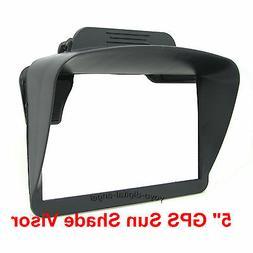 """Sun Shade Anti Glare Visor for 5"""" inch GPS Garmin 50LMTHD 50"""