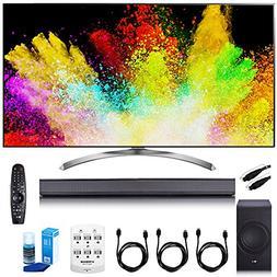 "LG 55"" Super UHD 4K HDR Smart LED TV - 55SJ8500 w/ Sound Bar"