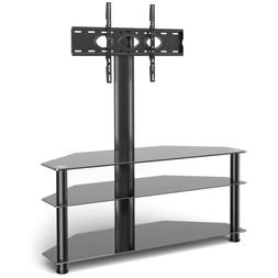 Swivel Corner Floor TV Stand with Mount for 37-70 inch Flat