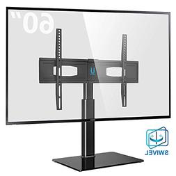 Fitueyes Universal TV Stand for 50 55 60 inch Flat Curved Sc