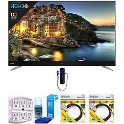 TCL 55 Inch 4K UHD Dolby Vision Roku Smart LED TV w/ WiFi &
