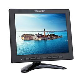 8 inch TFT LED Monitor 1024x768 Resolution Display Portable