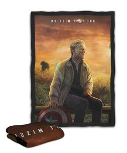 The Old Captain America Blanket  /  /